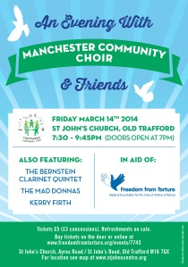 An Evening With Manchester Community Choir