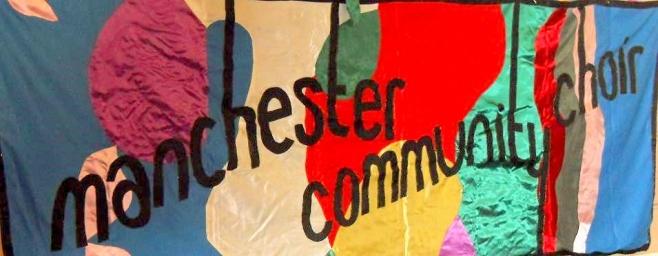 Manchester Community Choir banner