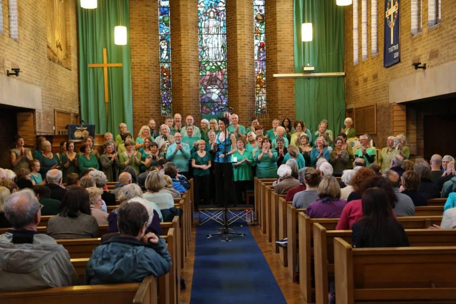 Chorlton Arts Festival 24th May 2013 at St Ninian's