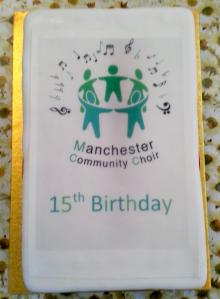 MCC 15th Birthday cake