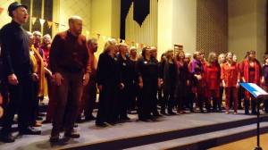 Singing with the Gasworks Choir Bristol