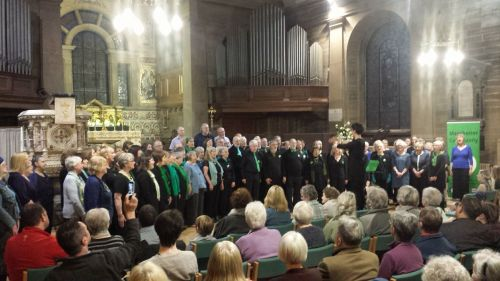 'Who will you be?' - the choir in full voice