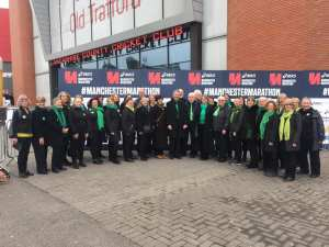 Manchester Community Choir at Greater Manchester Marathon